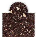 Joconde cacao al pistacchio, mandorle e cocco